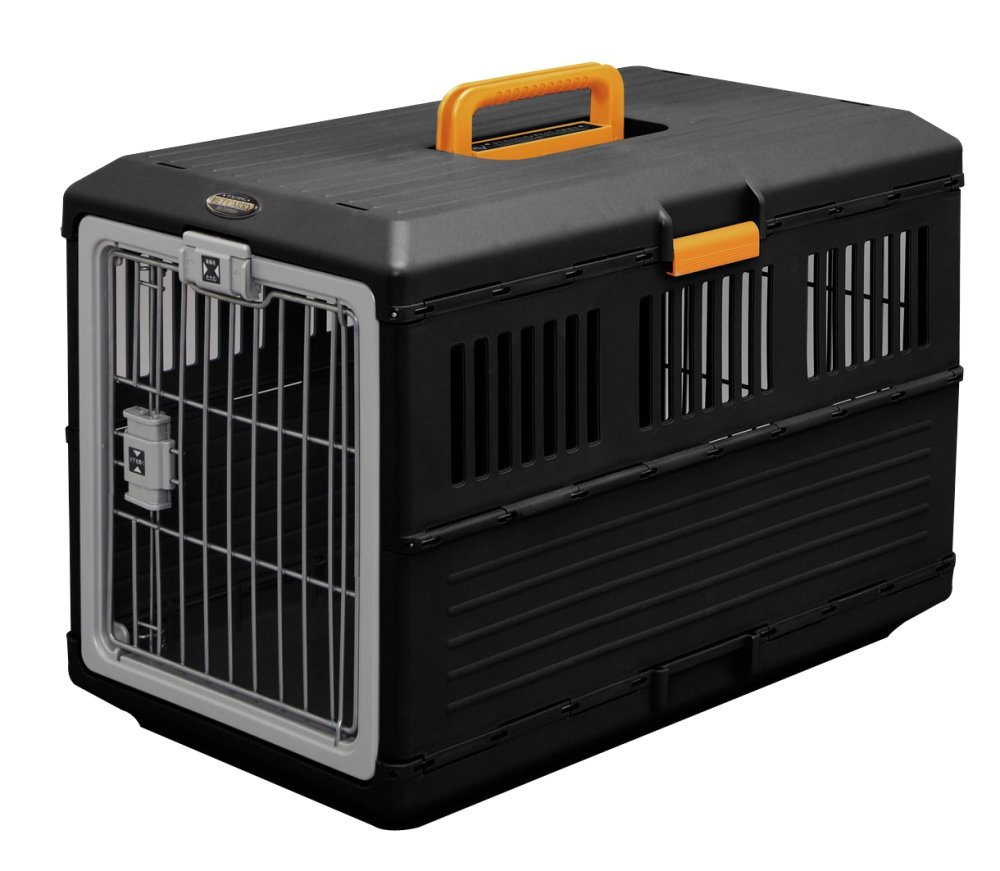 IRIS Collapsible/Foldable Pet Travel Carrier, Medium by IRIS OHYAMA, Inc.