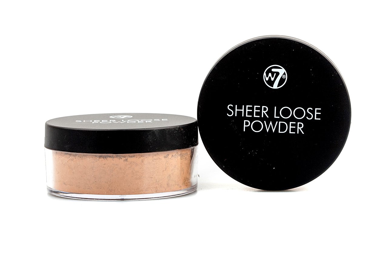 amazon com w7 sheer loose powder 20g biscuit beauty