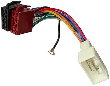 Aerzetix ISO-Konverter Kabel Radioadapter Radio Kabel Stecker ISO-Kabel Verbindungskabel Adapter