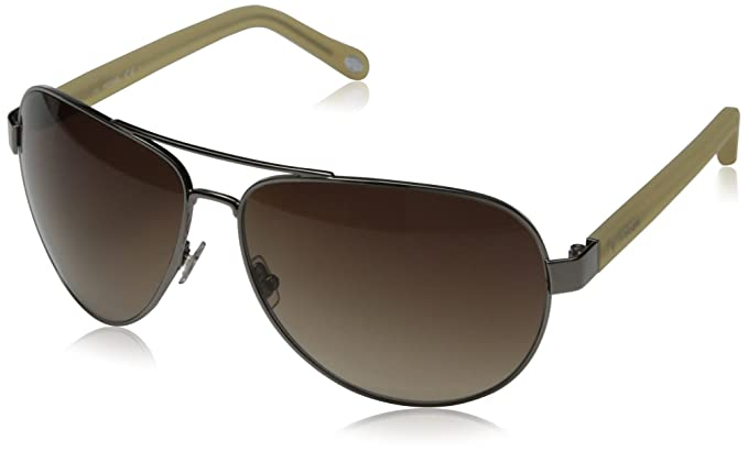ac1aed80bc8 Amazon.com  Fossil Women s Fos3033s Aviator