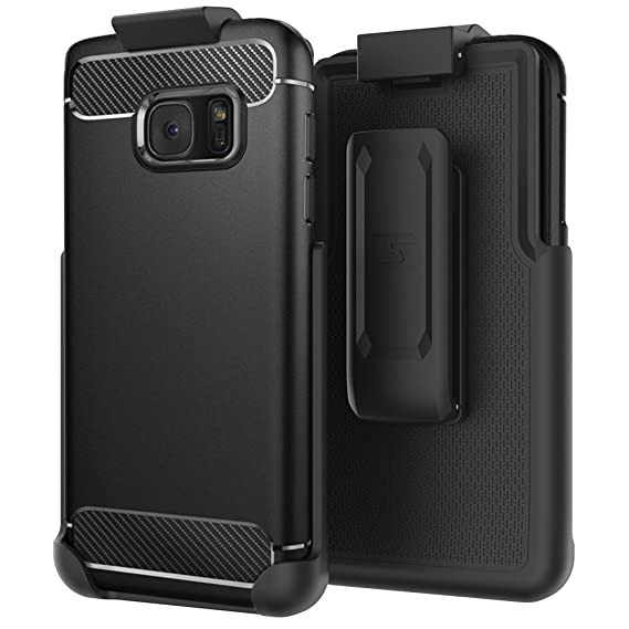 new product fc27c 497b5 Belt Clip Holster for Spigen Rugged Armor Case - Samsung Galaxy S7 (case  not Included) (Encased Products)