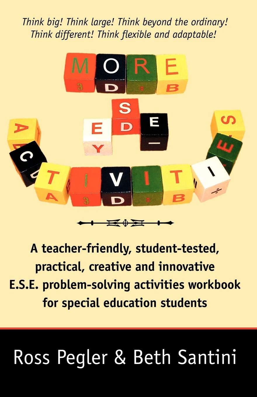 Special Education More Flexible >> More Ese Activities Ross Pegler Beth Santini