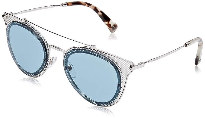 Valentino 0VA2019 300680 53 Gafas de sol, Plateado (Silver ...