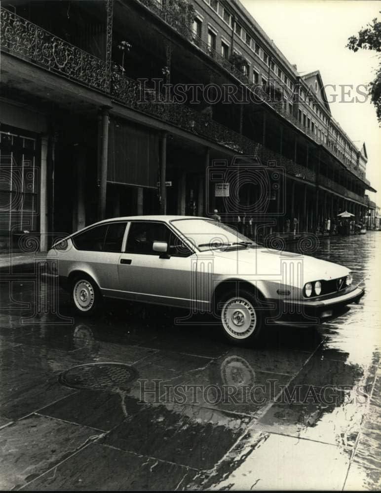 Historic Images 1981 Press Photo Alfa Romeo's 1982 Model GTV 6 Sports Coupe - hcb11245