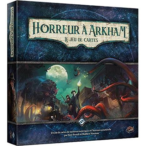 Asmodee - Terror de Arkham: El Juego de Tarjetas, ffjcha01 ...