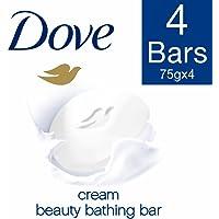 Dove Cream Beauty Bathing Bar, 75g (Buy 3 Get 1 Free)