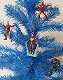 Iron Man 4 Piece Holiday MINI Christmas Ornament Set