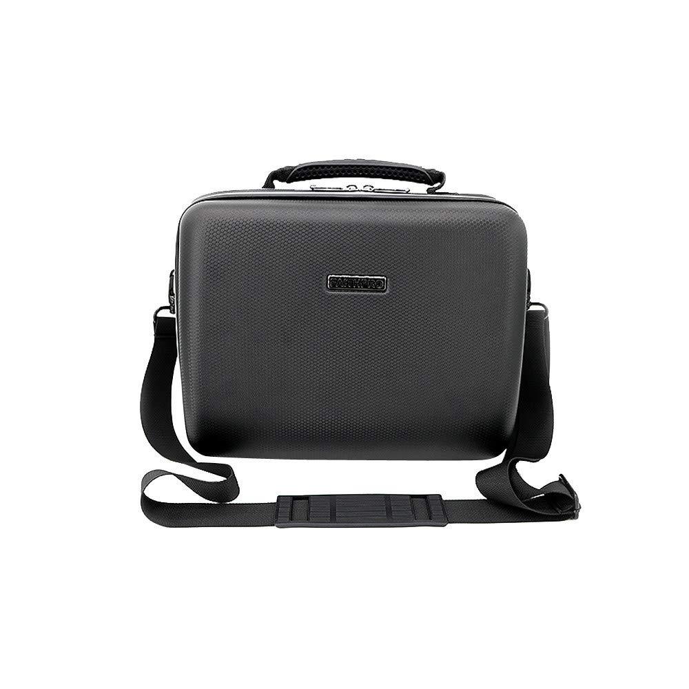Klions Waterproof Shoulder Bag Portable Handbag Storage Carrying Case For DJI Mavic 2 Pro/Zoom Quadcopter PU Black