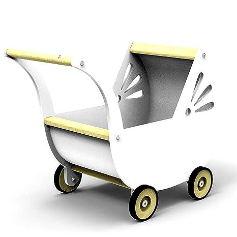 13016 – Muñeca carro de madera de abedul en 3 colores – Mano