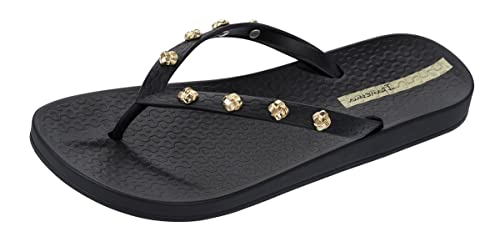 c1c84605973166 Ipanema Premium Love Knot Womens Flip Flops Sandals-Black-5