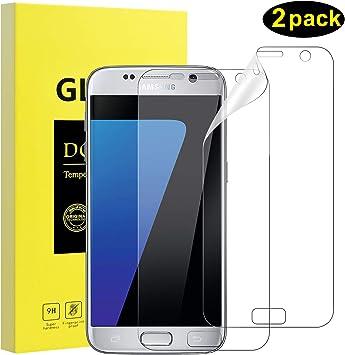 DOSMUNG Protector de Pantalla diseñado para Samsung S7,[2 Unidades ...