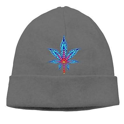 ba1f8eee9 Hemp Leaf Beanie Hat Classic Toboggan Hat Winter Hats Warm Hat ...