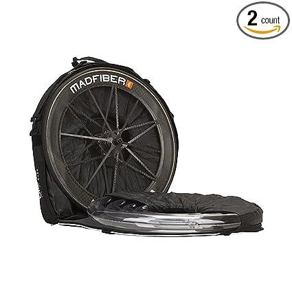 Amazon.com: 1 par de bolsas para ruedas de bicicleta Biknd ...