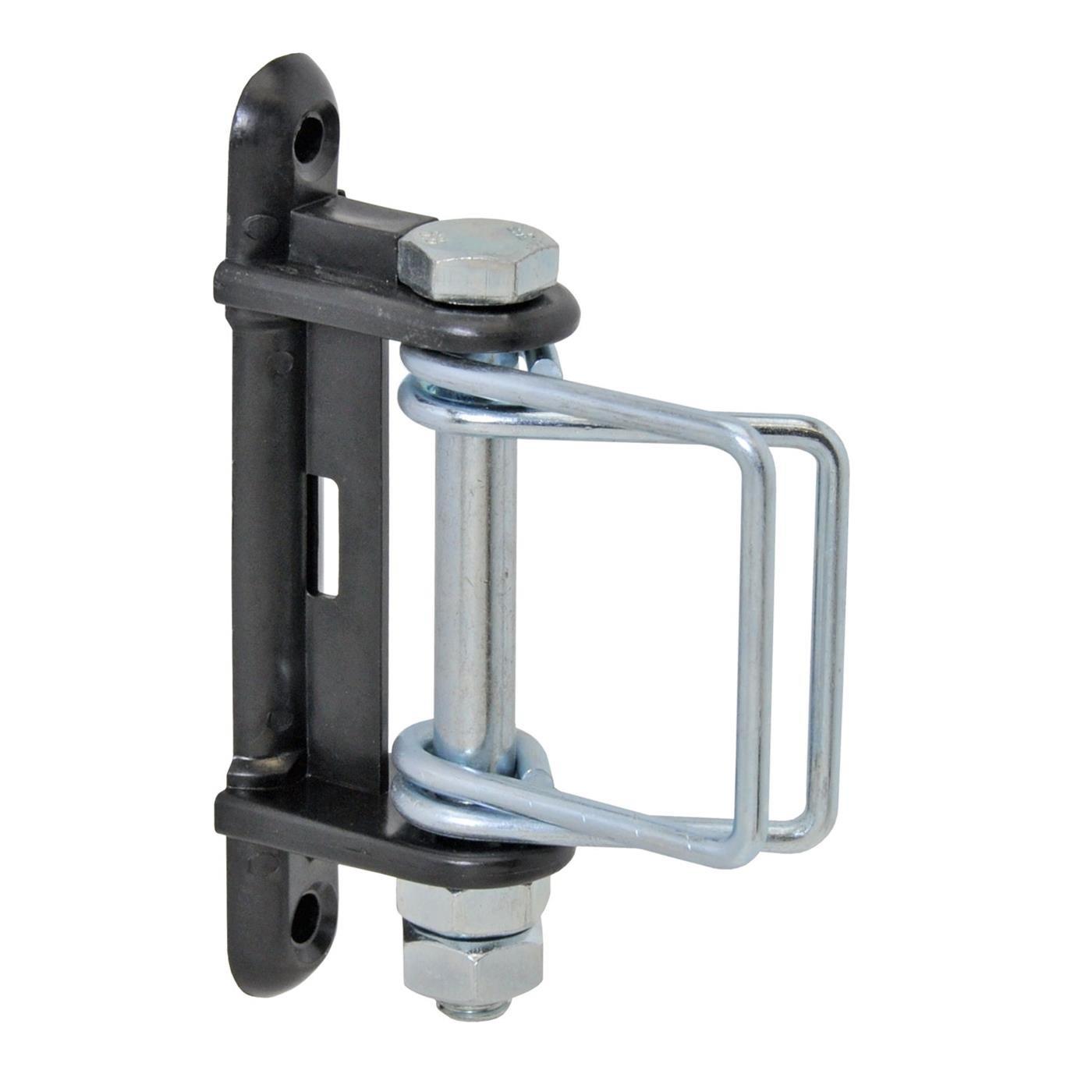 4x isolateurs d'angle avec pivot métallique et étriers supplémentaires