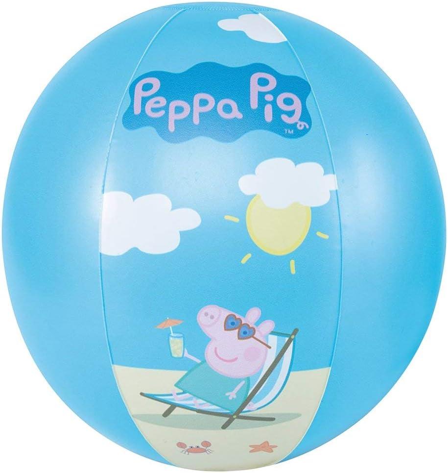 Happy People - Balón de playa Peppa Pig juguete de baño, color ...