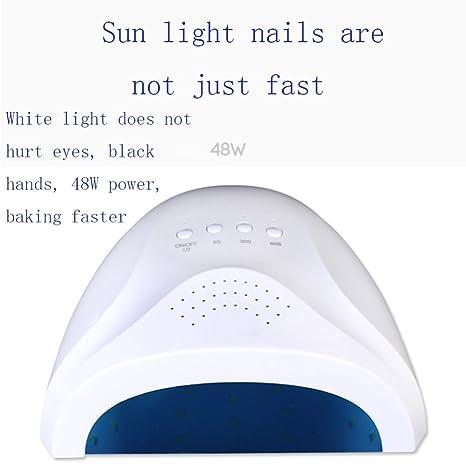 Secador De Uñas LED UV Máquina De Fototerapia LED Lámpara De Uñas LED Luz Solar Mini