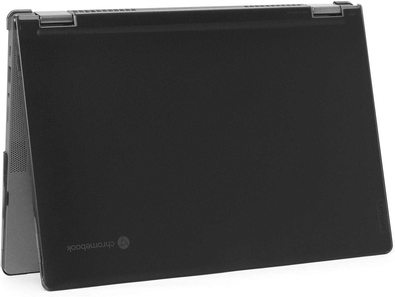 """mCover Hard Shell Case for 2020 Lenovo Chromebook Flex 5 (13"""") 2 in 1 Laptop ( NOT Fitting Lenovo 300E Windows & N21 / N22 / N23 / 300E / 500E / Flex 11 Chromebook ) LEN-CB-FLEX5-13 (Black)"""