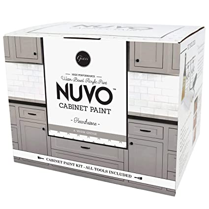 Nuvo Hearthstone All In  All In One Cabinet Makeover Kit, Warm Greige      Amazon.com