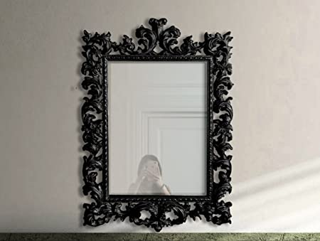 Fabrication Artisanale Miroir Mural Baroque Decoratif
