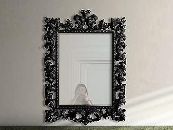 Fabrication Artisanale Miroir Mural Baroque Décoratif 780x1120x80mm