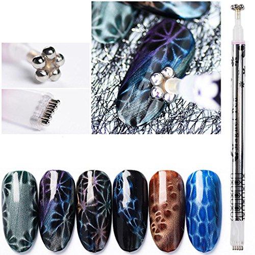 Dolloress Beauty Nail Belleza Uña ⭐ Double Head Magnet St