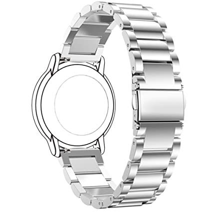 Replacement Women Metal Watch Bands Straps for Withings Activite,Asus ZenWatch 2 1.45