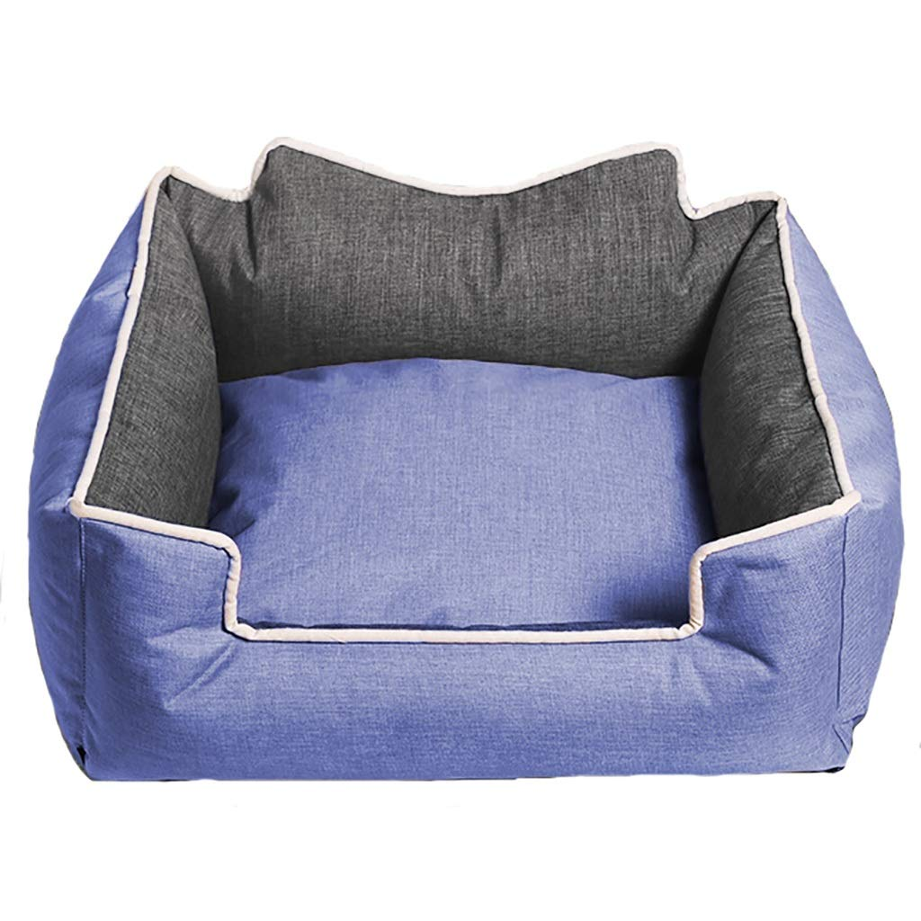 C 906826 C 906826 Pet house kennel Washable Small dog Medium dog Large dog Dog bed Pet mat pet bed pet nest Warm cosy Four seasons available (color   C, Size   90  68  26)