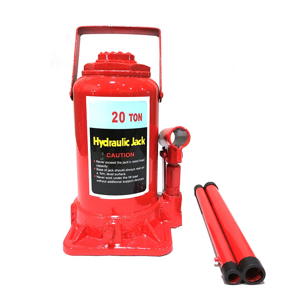 Roadstar 20 Ton Hydraulic Bottle Jack Heavy Duty Low Profile Automotive Shop Axle Jack Hoist Lift Tools