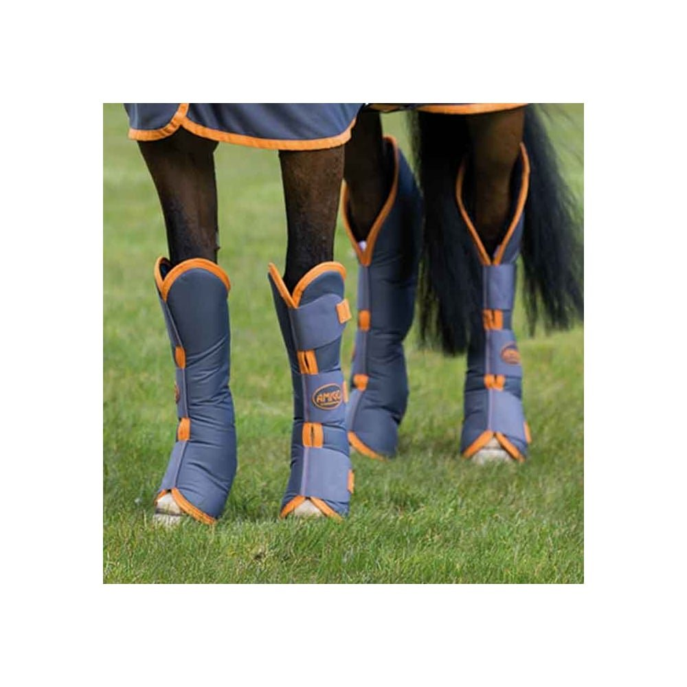 Amigo Travel Boots Pony Excalibur Orange by Amigo