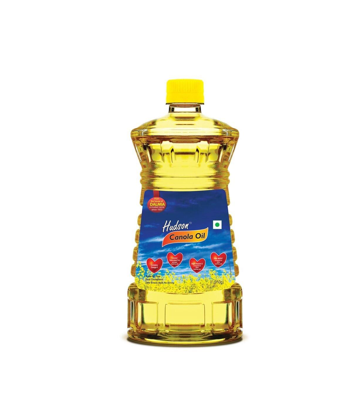 Hudson Canola Oil, 1L
