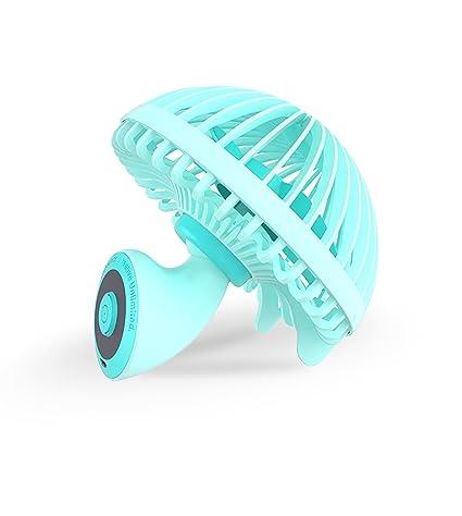 YKHENGTU Small USB Desk Fan,Mini Personal Portable Cooling Handheld Fans  5.5 Inch Innovative Mushroom