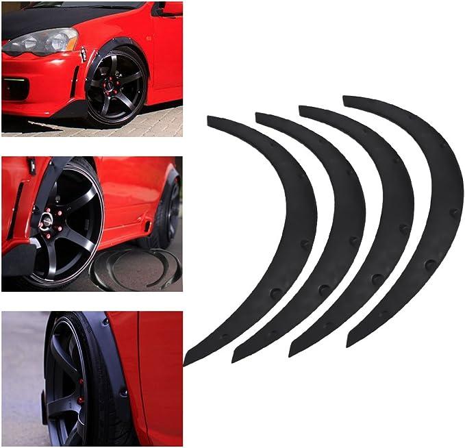 4 Stück Universal Auto Radlaufschutz Radlaufleisten Rad Augenbraue Schutz Für Autos Auto