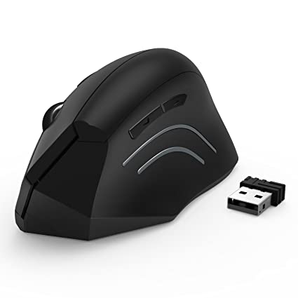 Amazon.com: Jelly Comb Ergonomic Mouse, 2.4GHz Optical Wireless