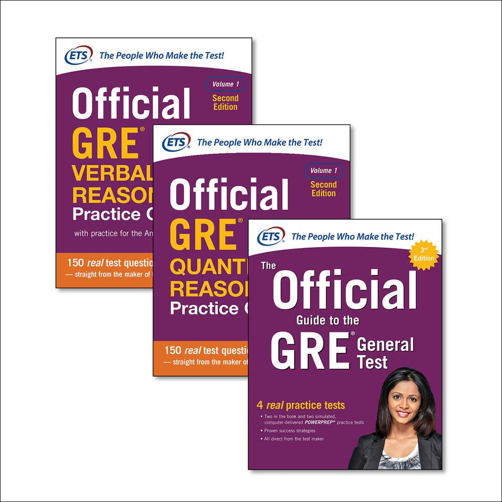 Official GRE Super Power Pack, Second Edition (TEST PREP)