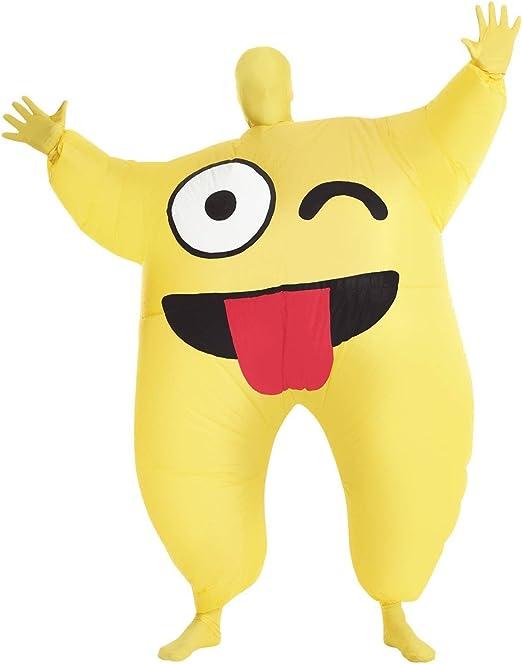 Disfraz Hinchable de Emoji, para Fiestas de Navidad, decoración de ...
