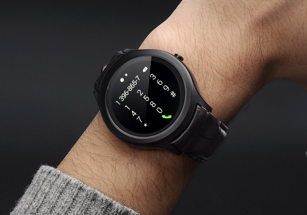 No. 1 D5 SIM Android Smart Watch - Wifi, 3 G, BT4.0, Google ...
