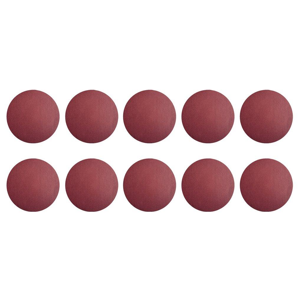 Homyl 10pcs 6' 150mm Sander Sanding Discs Pads 40-2000 Grit Sandpaper Polishing - As Pictures, 80#