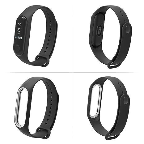 Xiaomi Mi Band, Correa de Reloj de Pulsera Inteligente TPU Javpoo con patrón de Moda para XiaoMi Mi Band 3: Amazon.es: Electrónica