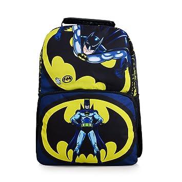 b886465ff35 Amazon.com   YOURNELO Boy s Colorful Printed DC Marvel Super Heroes Rucksack  Pre-School Backpack Bookbag (Batman)   Kids  Backpacks