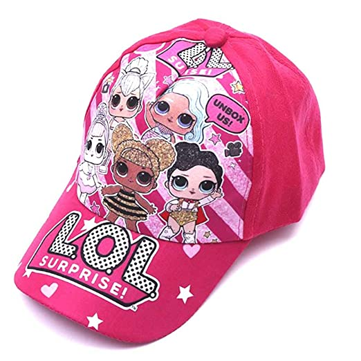 LOL Surprise Girls Dolls Baseball Hat