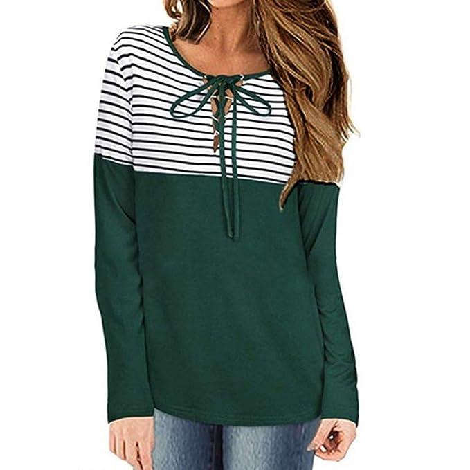 Amazon.com: Regalos para las mujeres, otoño blusa de las ...