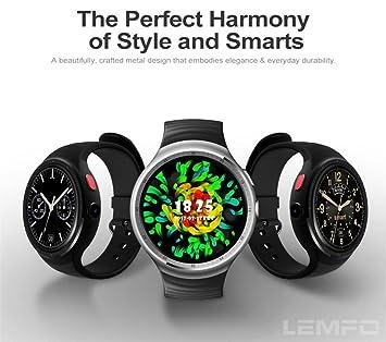 3 G Smart Watch Teléfono, lemfo les1 – con ranura de tarjetas SIM Bluetooth de