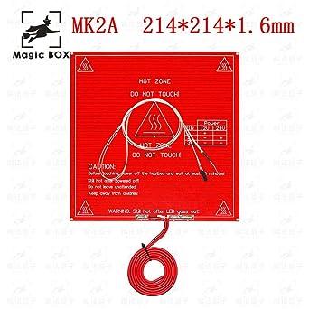 Amazon.com: Laliva MK2B Cama calefactora + LED + Resistencia ...