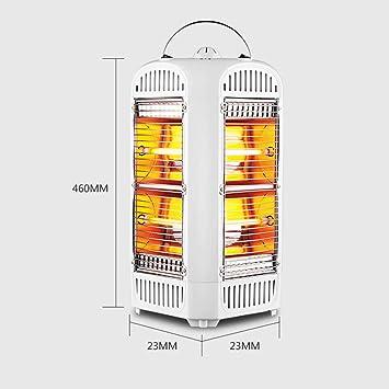 Calefacción HAIZHEN Calentador de baño de Doble Uso Cuatro Lados Estufa eléctrica Hogar Vertical 1800W Ahorro de energía: Amazon.es: Hogar