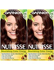 Garnier Hair Color Nutrisse Nourishing Creme, 415 Soft...