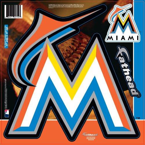 MLB Miami Marlins Fathead Logo Decal (Mlb Fathead Logos)