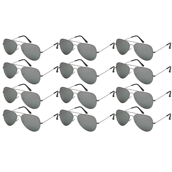 Amazon.com: Edge I-Wear - Gafas de sol para hombre, Plateado ...
