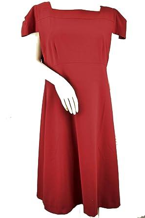 Kurze Rot Damen Kleid Etuikleid 50 Rot50 ärmel 54cA3RjqL