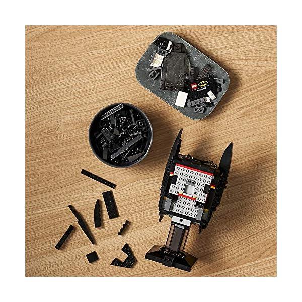 LEGO DC Batman: Batman Cowl 76182 Collectible Cowl Building Kit Batman Model (410 Pieces)