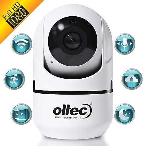Amazon.com: Cámara de Seguridad WiFi Cámara de Vigilancia IP ...